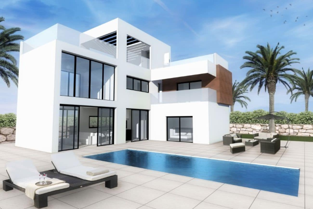 3 bedroom Villa for sale in Finestrat with pool - € 379,900 (Ref: 4635219)