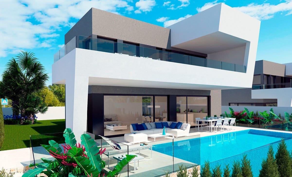 Chalet de 3 habitaciones en Polop en venta con piscina - 450.000 € (Ref: 4985635)