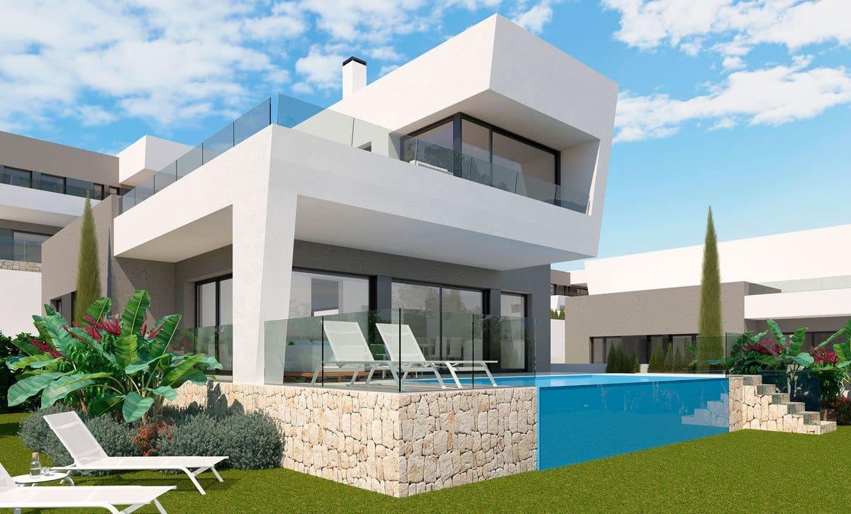 Chalet de 3 habitaciones en Polop en venta con piscina - 430.000 € (Ref: 4985636)