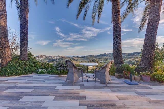 8 sypialnia Finka/Dom wiejski na sprzedaż w Moraira z basenem - 1 600 000 € (Ref: 5739576)