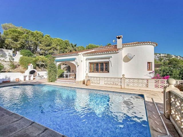 3 sovrum Villa till salu i Benissa med pool garage - 325 000 € (Ref: 4472074)