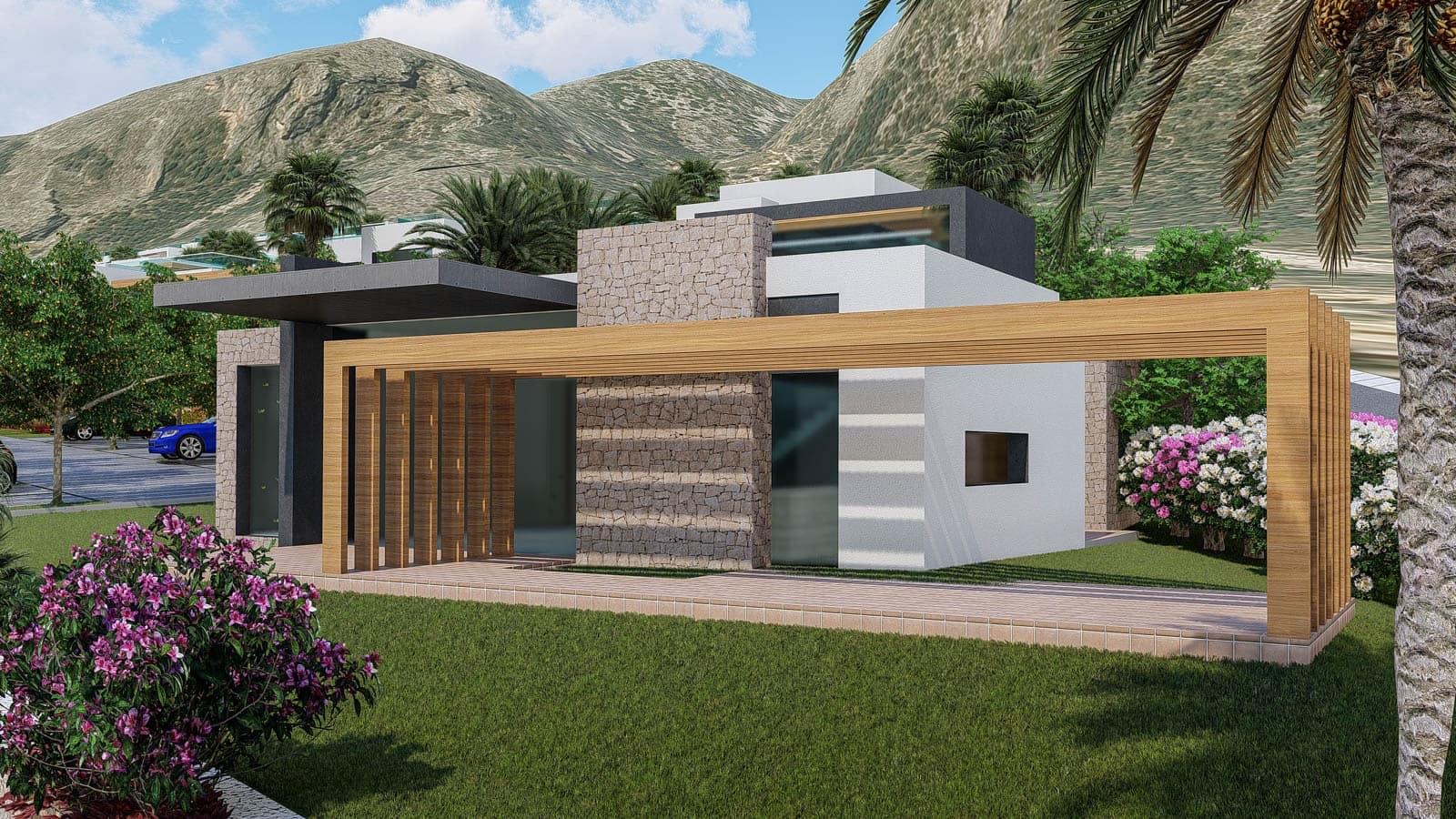 Chalet de 2 habitaciones en Polop en venta con piscina garaje - 194.000 € (Ref: 4700629)