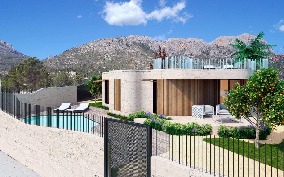 Chalet de 2 habitaciones en Polop en venta con piscina garaje - 385.000 € (Ref: 4797482)