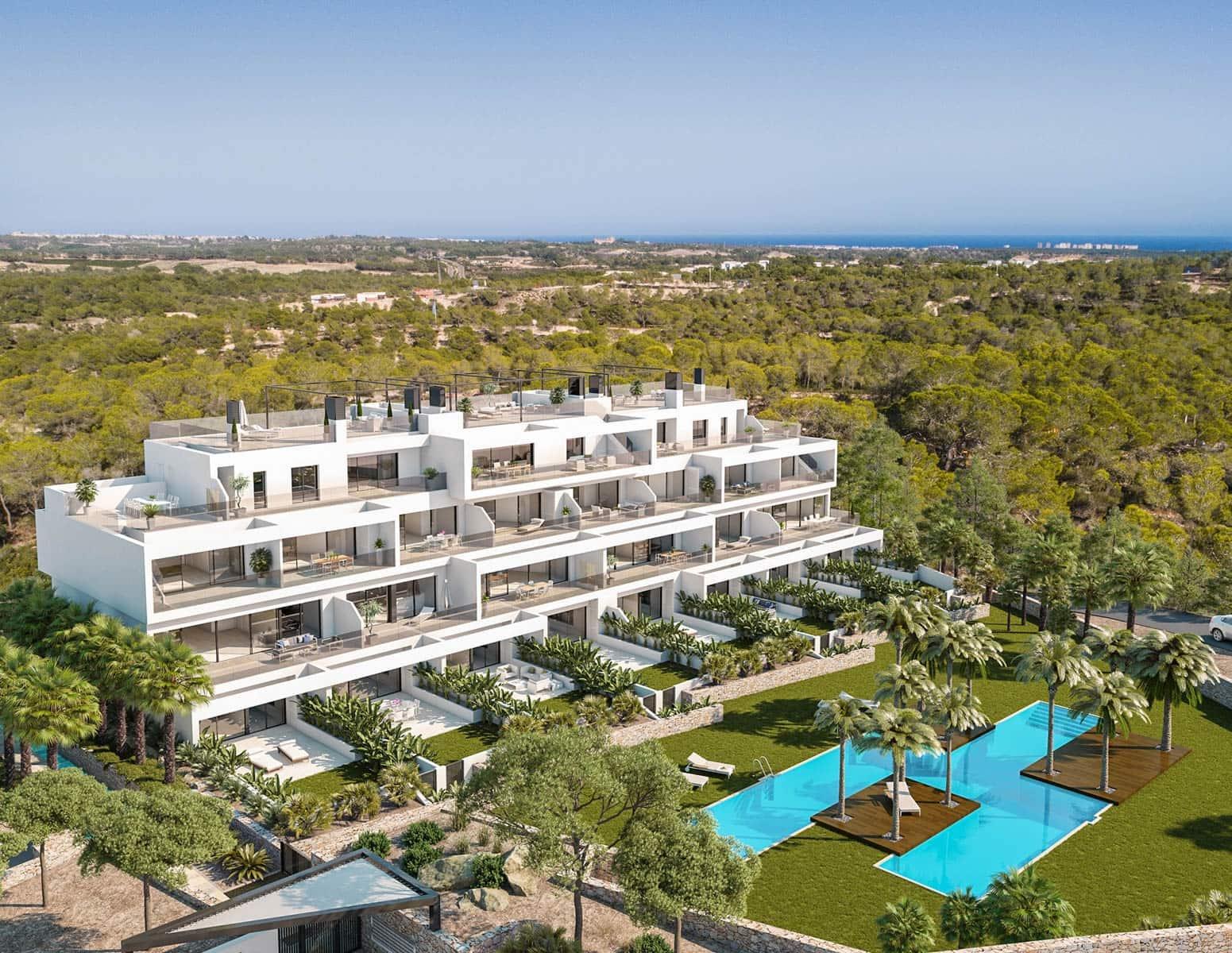 Apartamento de 3 habitaciones en Las Colinas Golf en venta con piscina garaje - 297.000 € (Ref: 4967994)