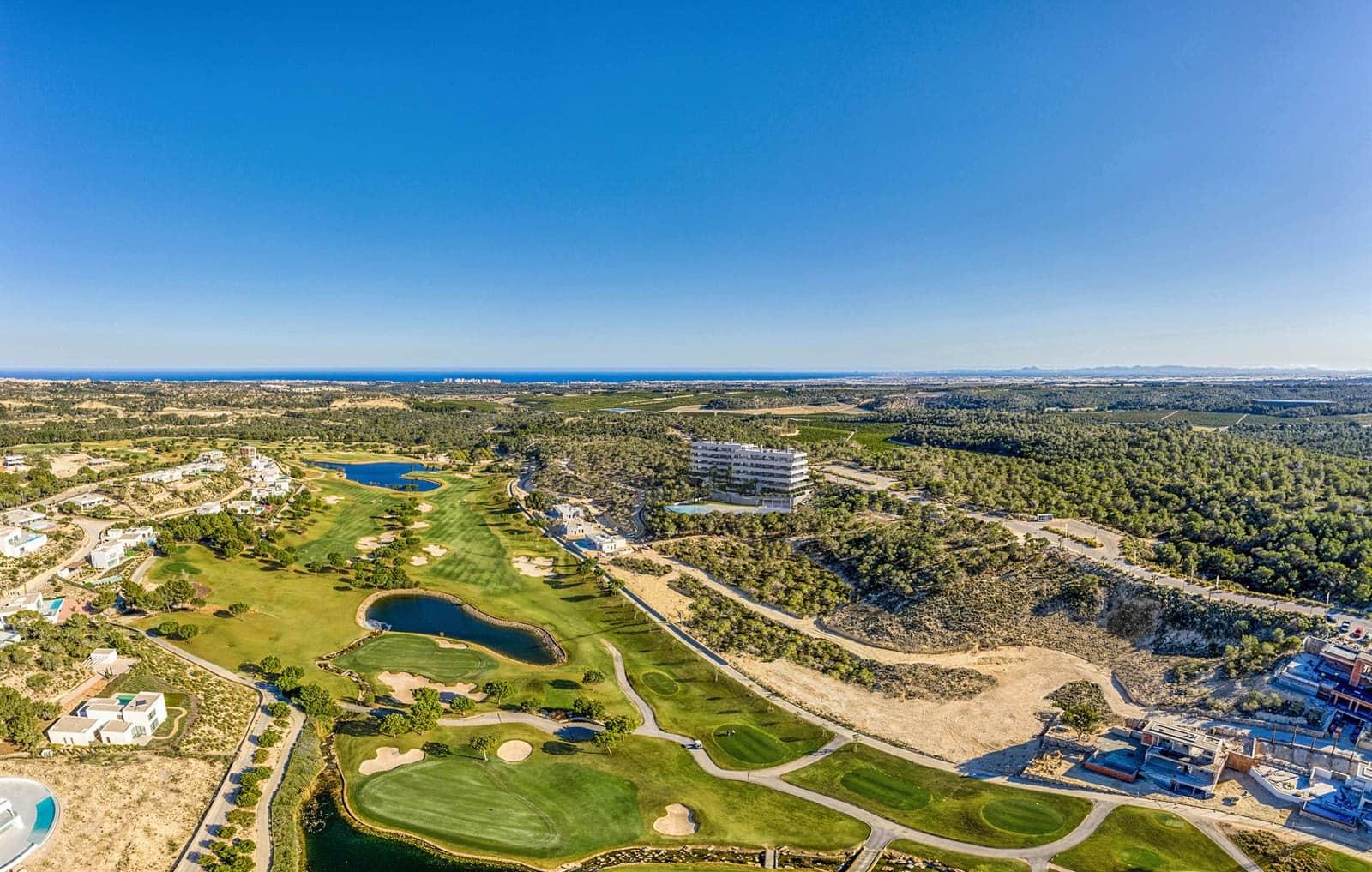 Apartamento de 3 habitaciones en Las Colinas Golf en venta con piscina garaje - 630.000 € (Ref: 4967996)