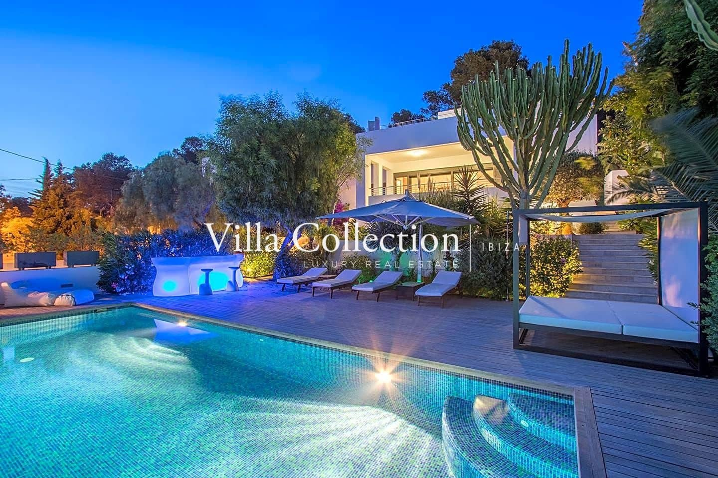 5 bedroom Villa for holiday rental in Ibiza / Eivissa town with pool - € 17,000 (Ref: 5063060)