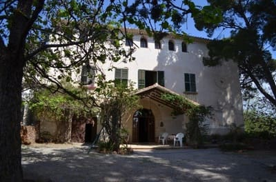 6 chambre Finca/Maison de Campagne à vendre à Botarell avec garage - 500 000 € (Ref: 4950421)
