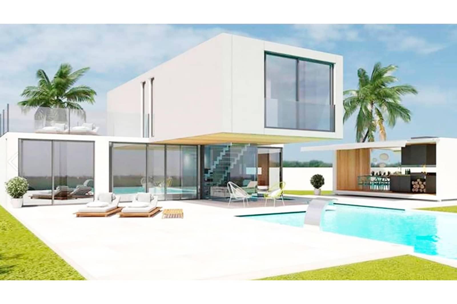 Chalet de 3 habitaciones en Polop en venta con piscina - 570.000 € (Ref: 4893584)
