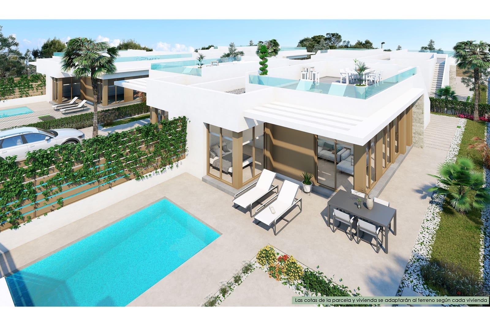 Chalet de 3 habitaciones en Orihuela en venta con piscina - 199.000 € (Ref: 4893611)