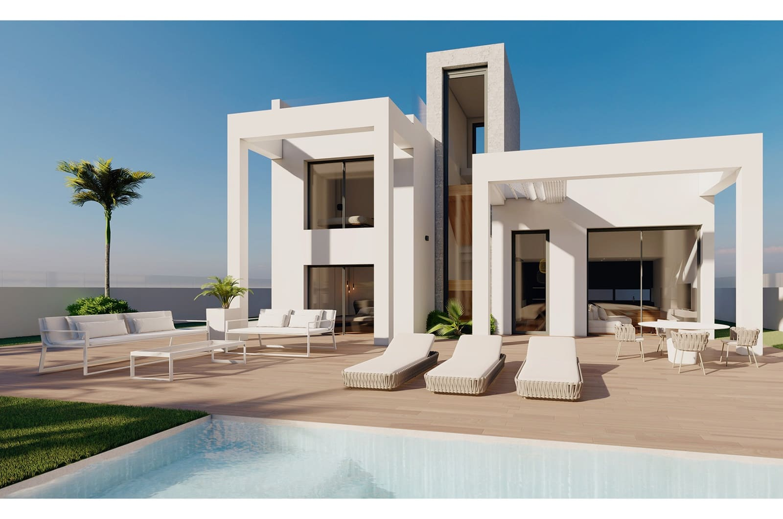 3 bedroom Villa for sale in Finestrat with pool garage - € 399,000 (Ref: 4893787)