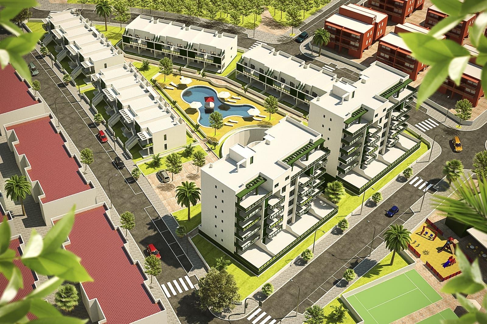 Apartamento de 3 habitaciones en Pilar de la Horadada en venta con piscina - 179.000 € (Ref: 4894119)