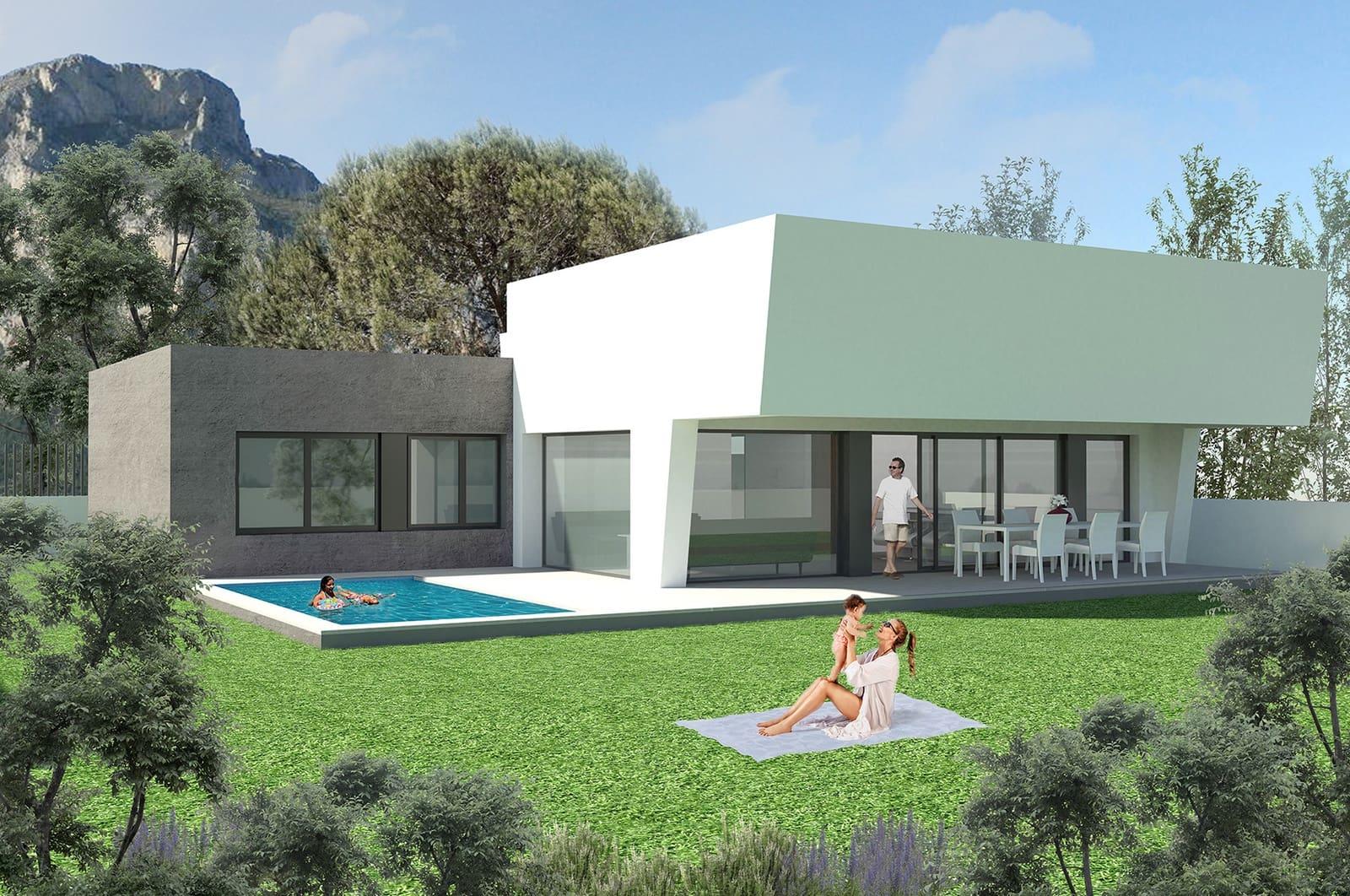 Chalet de 3 habitaciones en Polop en venta con piscina - 436.000 € (Ref: 4914388)