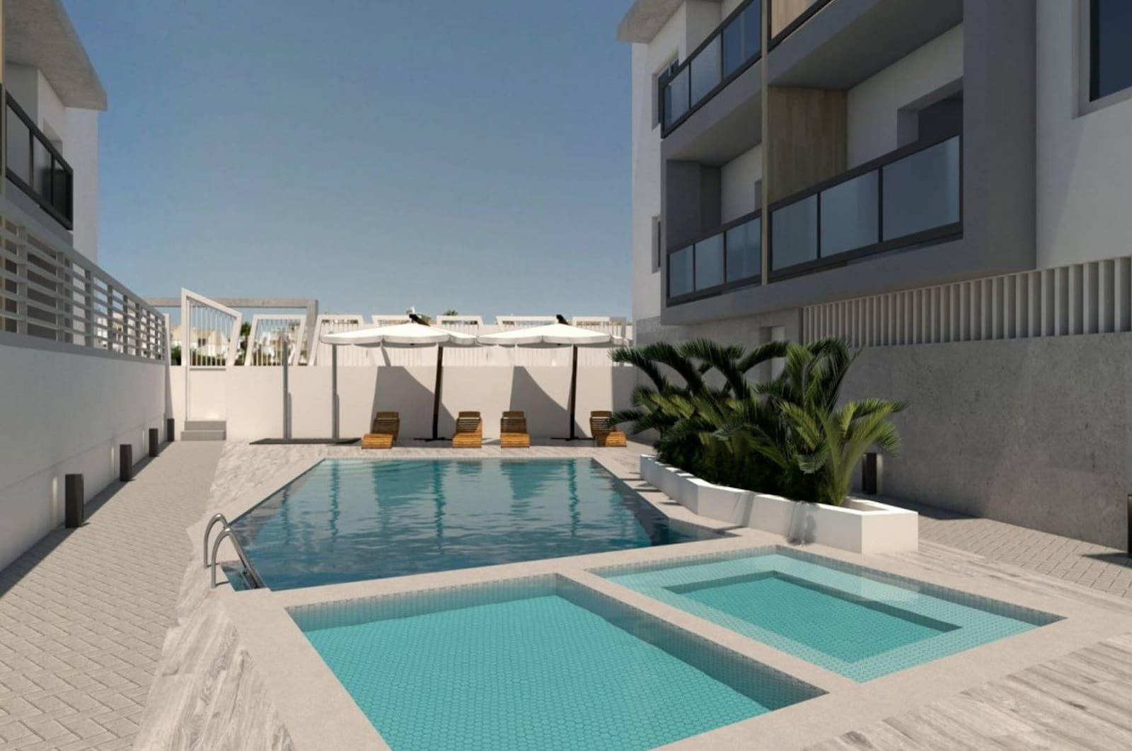 Ático de 3 habitaciones en Benijófar en venta con piscina garaje - 181.000 € (Ref: 4963636)