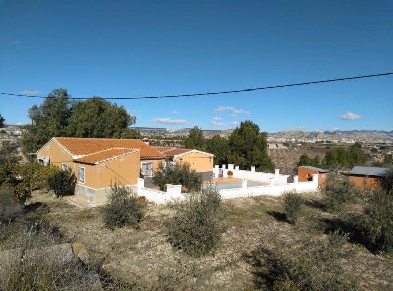 6 quarto Quinta/Casa Rural para venda em Mula com piscina - 145 000 € (Ref: 4998199)