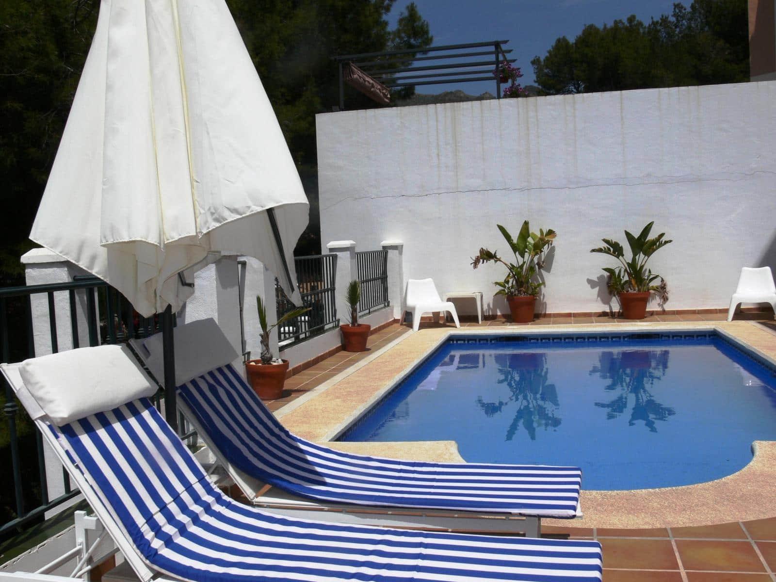 4 camera da letto Villa da affitare come casa vacanza in Nerja con piscina - 700 € (Rif: 4324850)