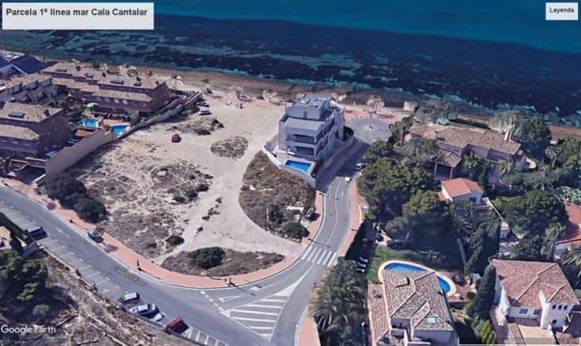 Tomt till salu i Cabo de las Huertas - 4 200 000 € (Ref: 4363727)