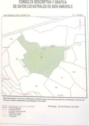 Ubebygd land til salgs i Monovar / Monover - € 44 100 (Ref: 5869403)