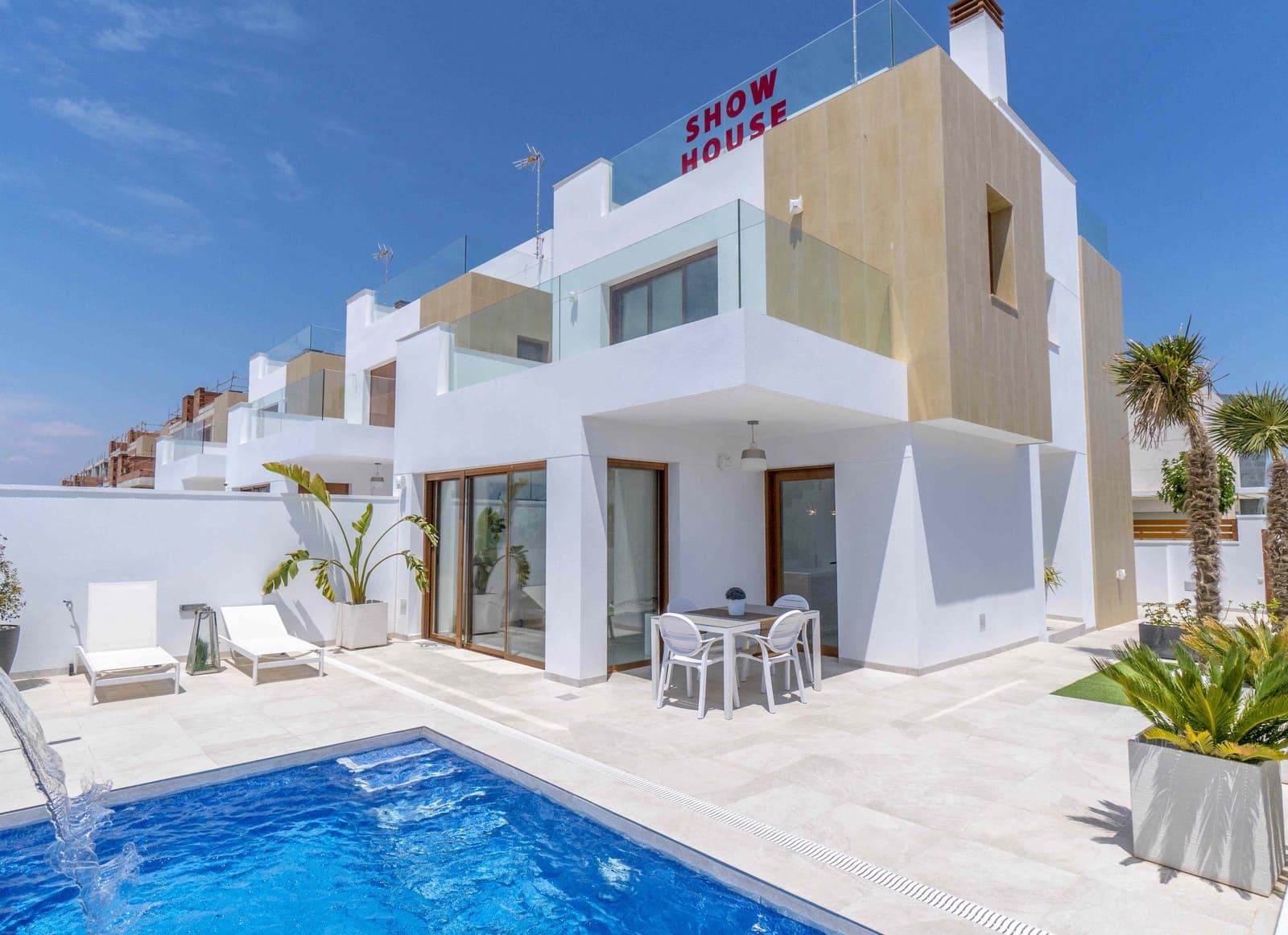 Chalet de 3 habitaciones en Pilar de la Horadada en venta - 389.500 € (Ref: 4436750)