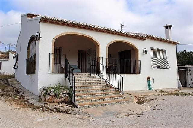 3 bedroom Finca/Country House for sale in Gata de Gorgos - € 249,000 (Ref: 5483166)