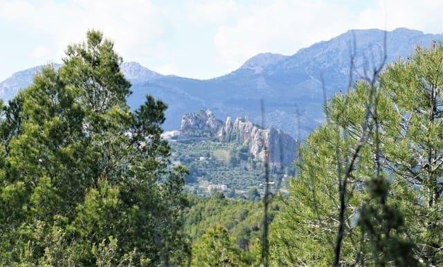 Ubebygd land til salgs i Guadalest - € 85 000 (Ref: 4952376)