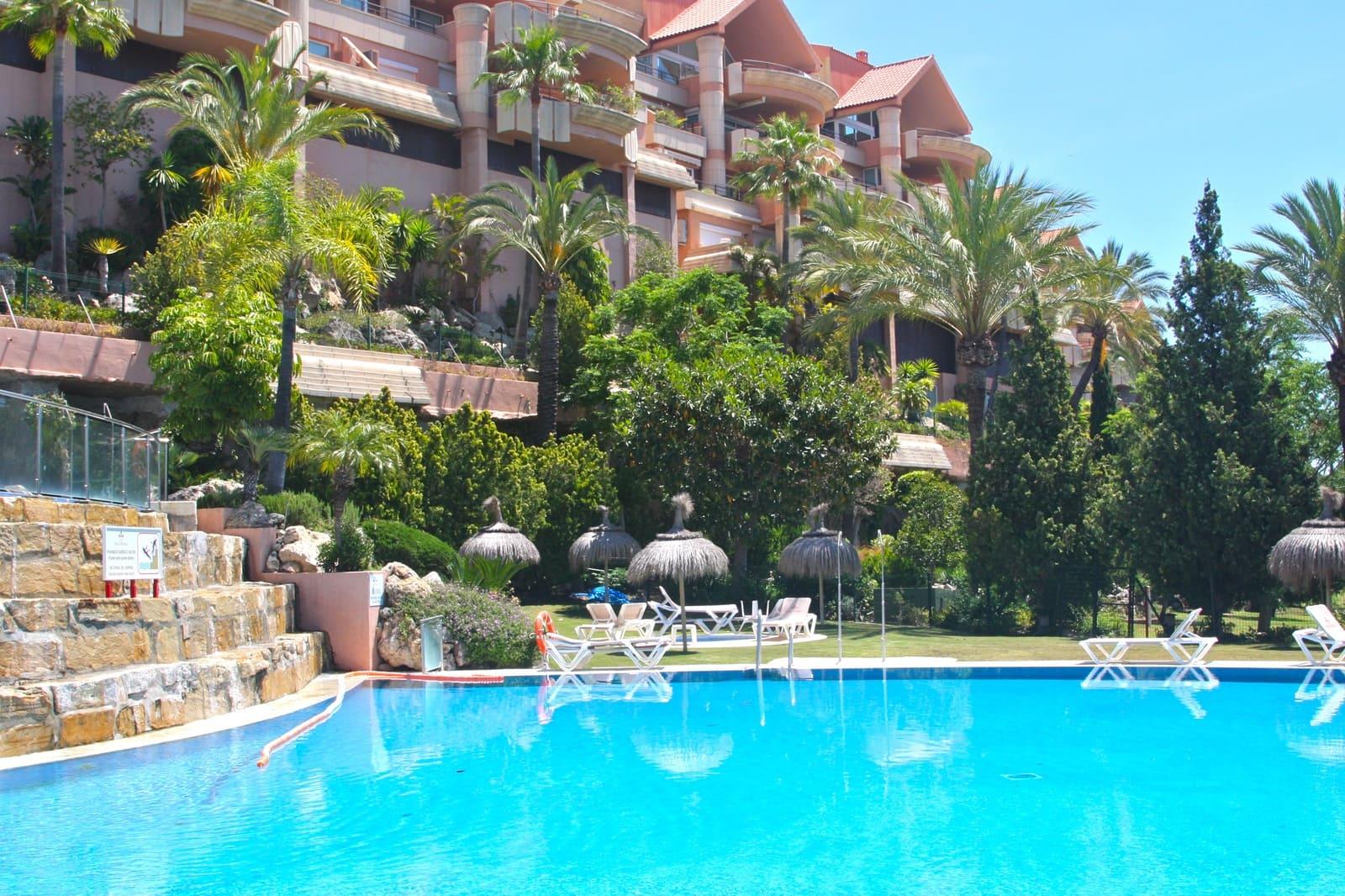 2 Zimmer Ferienapartment in Marbella mit Pool Garage - 950 € (Ref: 4446872)