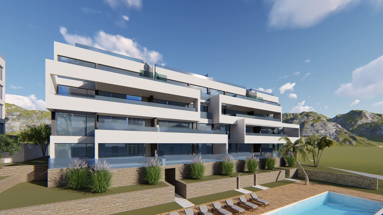 Apartamento de 2 habitaciones en Las Colinas Golf en venta con piscina - 295.000 € (Ref: 5035656)