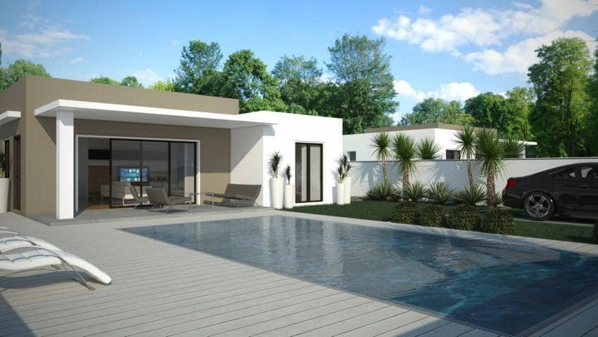 Chalet de 3 habitaciones en Benijófar en venta con piscina - 319.000 € (Ref: 4478300)