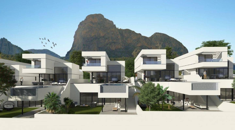 Chalet de 3 habitaciones en Polop en venta con piscina - 580.000 € (Ref: 4957146)