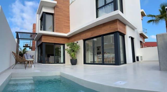 3 chambre Villa/Maison Semi-Mitoyenne à vendre à Santiago de la Ribera avec piscine - 315 000 € (Ref: 5075551)