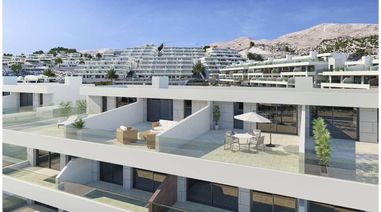 2 soveværelse Byhus til salg i Finestrat med swimmingpool - € 280.000 (Ref: 5222767)