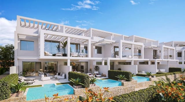 3 soveværelse Byhus til salg i Manilva med swimmingpool - € 355.000 (Ref: 5918315)