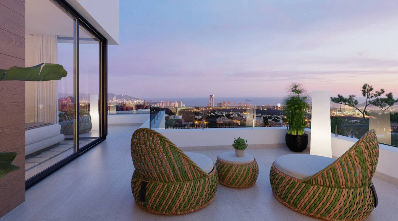 3 soveværelse Villa til salg i Finestrat med swimmingpool - € 595.000 (Ref: 5957964)