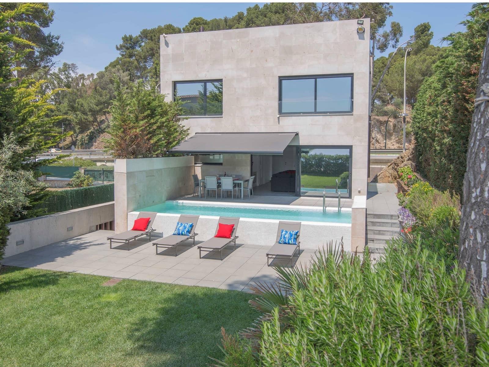 3 sovrum Villa att hyra i Palamos med pool garage - 3 750 € (Ref: 4554612)