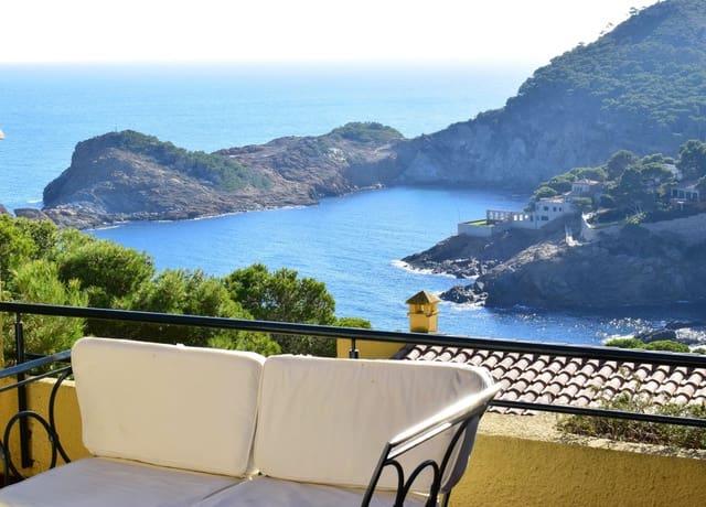 3 slaapkamer Halfvrijstaande villa te huur in Begur met zwembad garage - € 1.450 (Ref: 4555200)