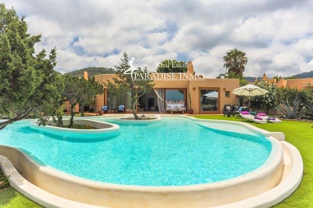 4 soveværelse Byhus til leje i Cala Tarida med swimmingpool - € 4.500 (Ref: 6025383)