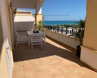 2 sovrum Takvåning att hyra i Guardamar del Segura med pool - 1 000 € (Ref: 5445766)