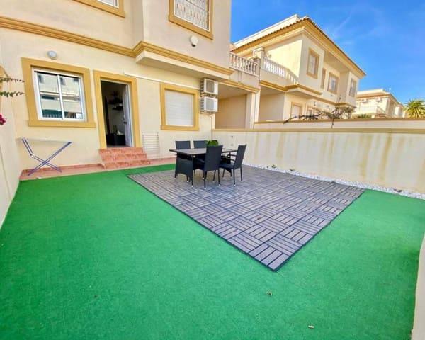2 slaapkamer Rijtjeshuis te huur in Playa Flamenca met zwembad garage - € 550 (Ref: 5705679)