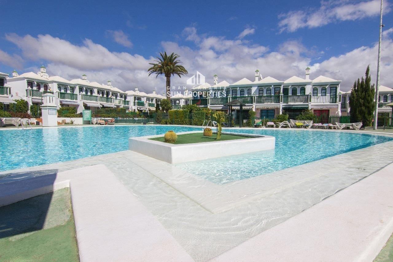 1 slaapkamer Bungalow te huur in Maspalomas met zwembad - € 850 (Ref: 5312321)