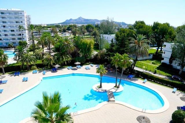 Studio til salgs i Puerto de Alcudia med svømmebasseng garasje - € 85 000 (Ref: 5608792)