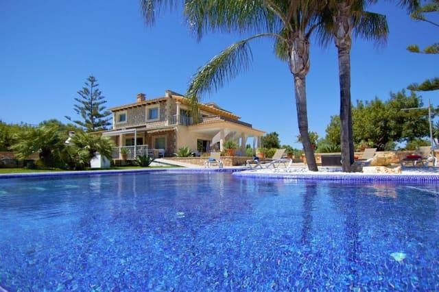 7 sypialnia Finka/Dom wiejski na sprzedaż w Muro z basenem garażem - 2 650 000 € (Ref: 6240452)