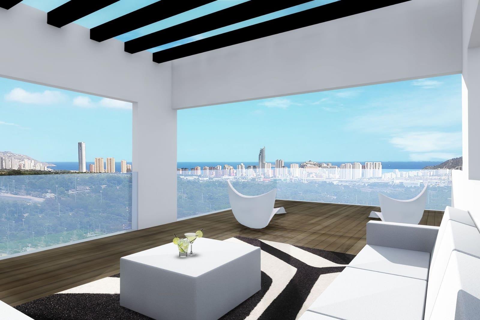 3 bedroom Villa for sale in Finestrat with pool garage - € 399,900 (Ref: 4645505)