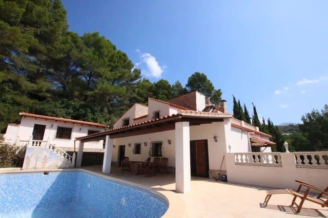 4 chambre Finca/Maison de Campagne à vendre à Bolulla avec piscine garage - 450 000 € (Ref: 4781278)