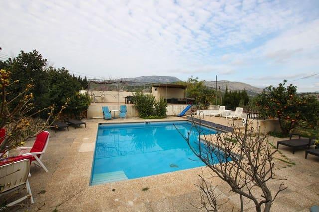 Finca/Casa Rural de 4 habitaciones en Polop en alquiler vacacional con piscina - 1.500 € (Ref: 5313217)