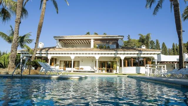 5 sovrum Semi-fristående Villa till salu i Guadalmina med pool garage - 4 750 000 € (Ref: 6019028)