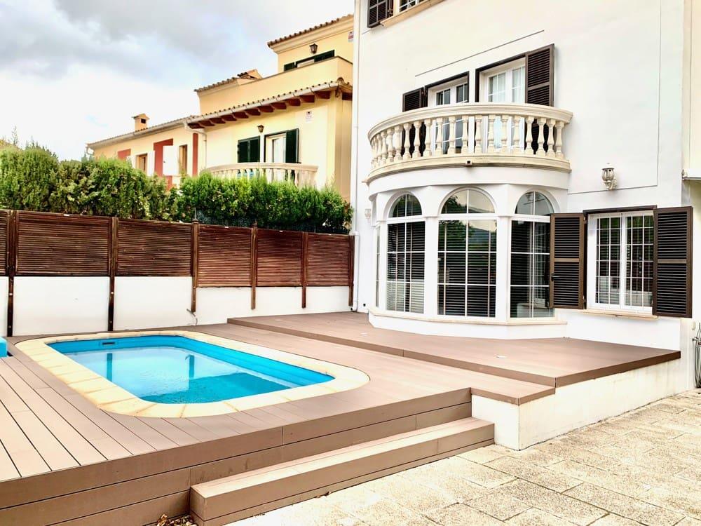 5 slaapkamer Huis te huur in Palma de Mallorca met zwembad - € 2.600 (Ref: 5211941)