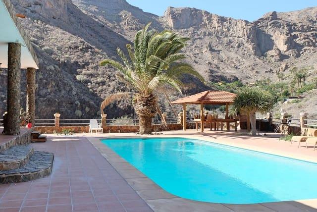 3 sypialnia Finka/Dom wiejski do wynajęcia w Arguineguin z basenem - 1 400 € (Ref: 5656057)