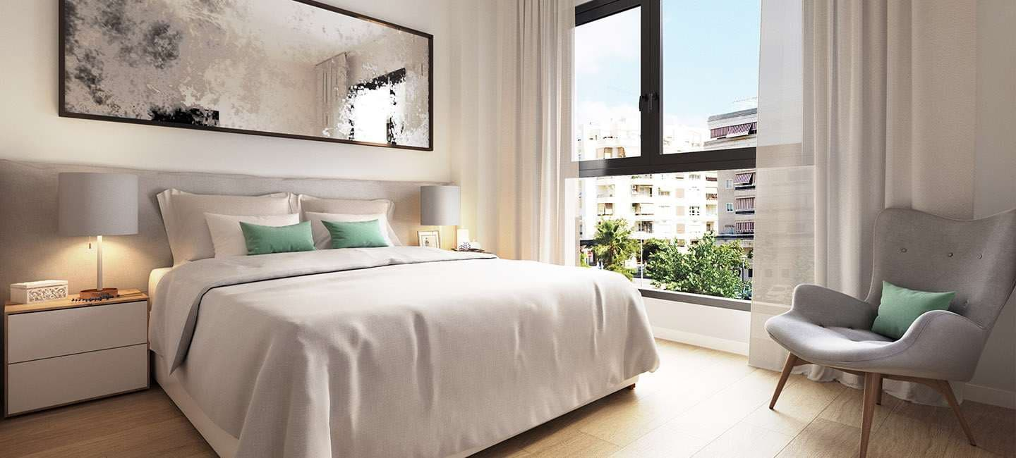 2 bedroom Apartment for sale in Malaga city with pool ...