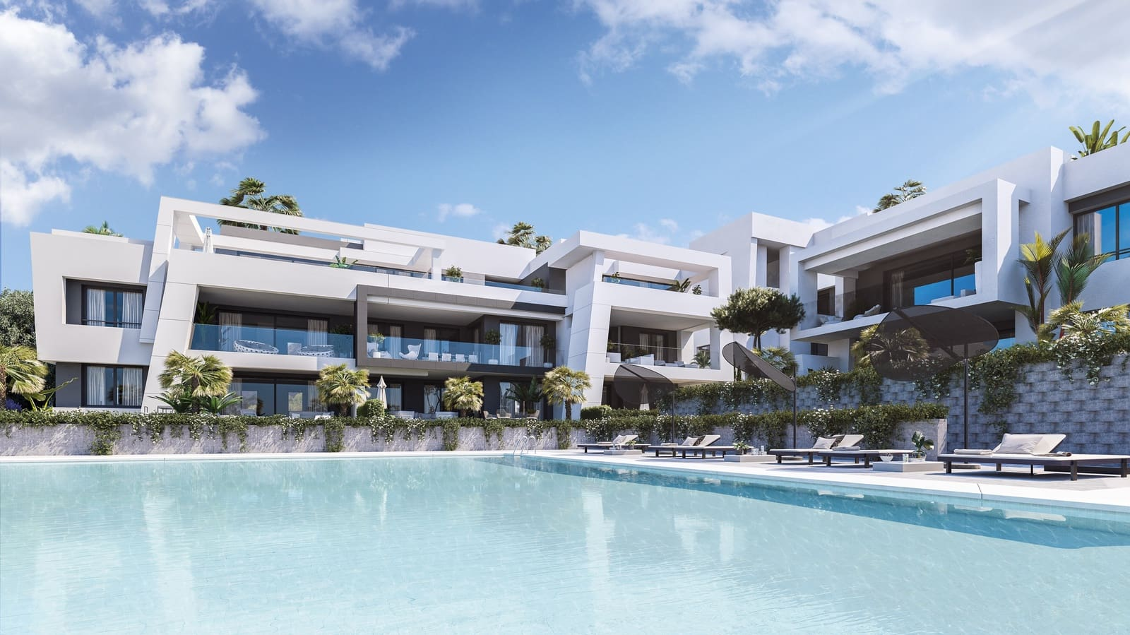 2 bedroom Apartment for sale in Estepona with pool garage - € 269,000 (Ref: 4860474)