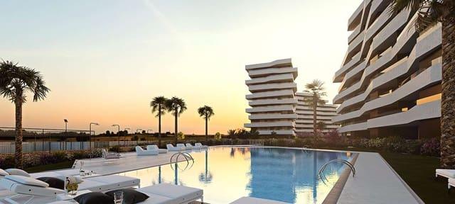 2 soverom Leilighet til salgs i Alicante by med svømmebasseng garasje - € 195 000 (Ref: 4990623)