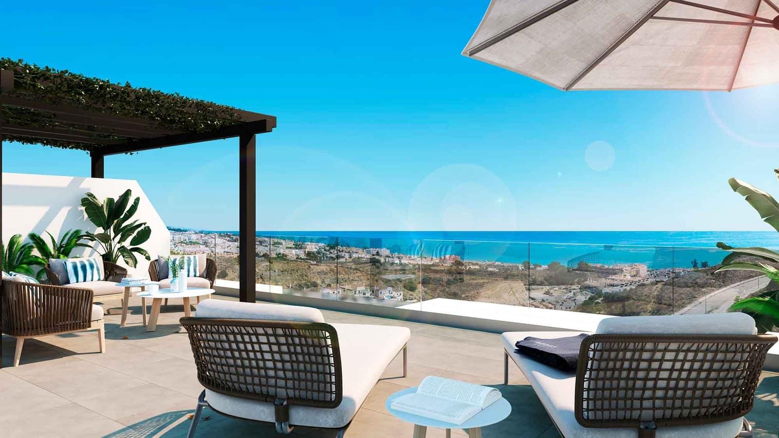 3 Zimmer Apartment zu verkaufen in Rincon de la Victoria mit Pool Garage - 260.000 € (Ref: 4990970)